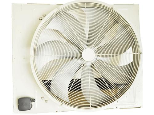 風冷螺桿式機組風系統